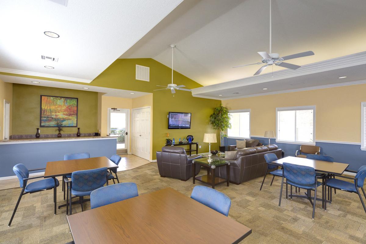 Holly Cove Clubhouse Interior
