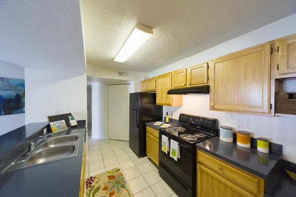 Noah's Landing Apartments Fully Equipped Kitchen