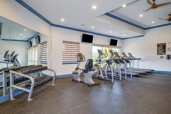 Renovated Fitness Center
