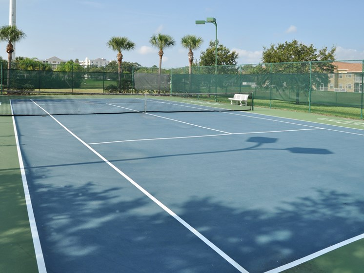Landings at Boot Ranch Apartments Tennis Court