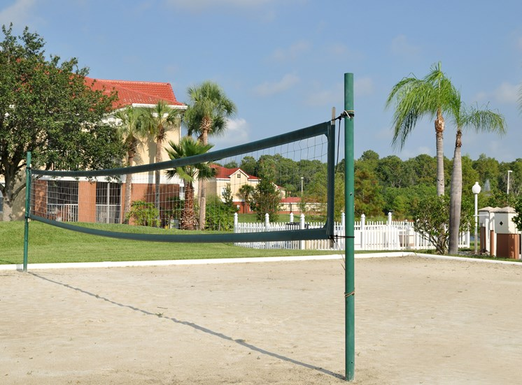 Landings at Boot Ranch Apartments Volleyball Court