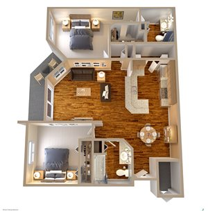 Boot Ranch Floor Plan