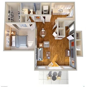 The Farrington Apartments Floor Plan