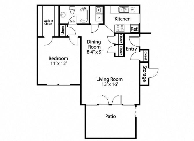 The Farrington Apartments Floor Plan