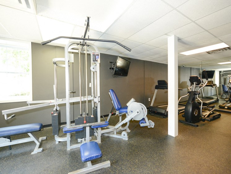 Hidden Colony Apartments Fitness Center