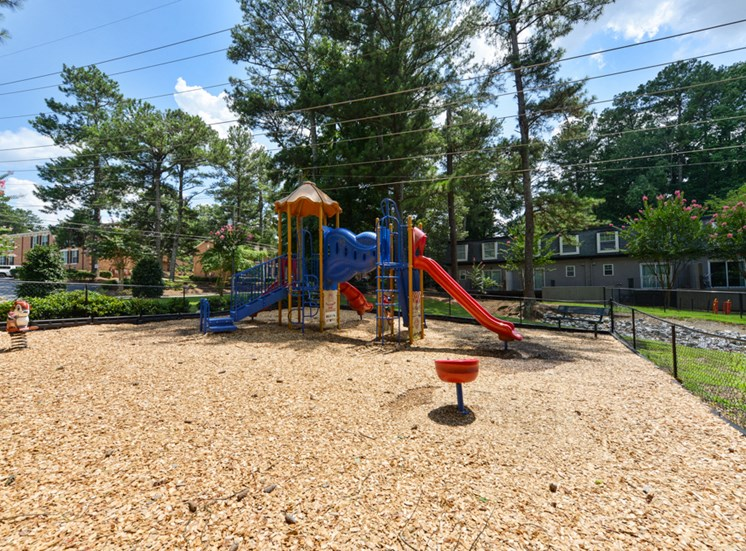 Hidden Colony Apartments Playground
