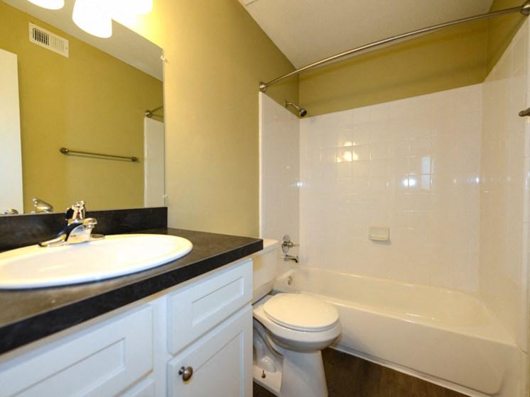 Hidden Colony Apartments Renovated Bathroom