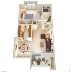 Hilton Head Apartments Floor Plan
