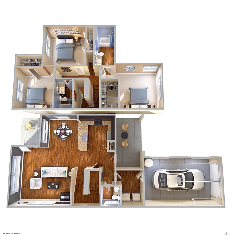 Mount Vernon Apartments Floor Plans