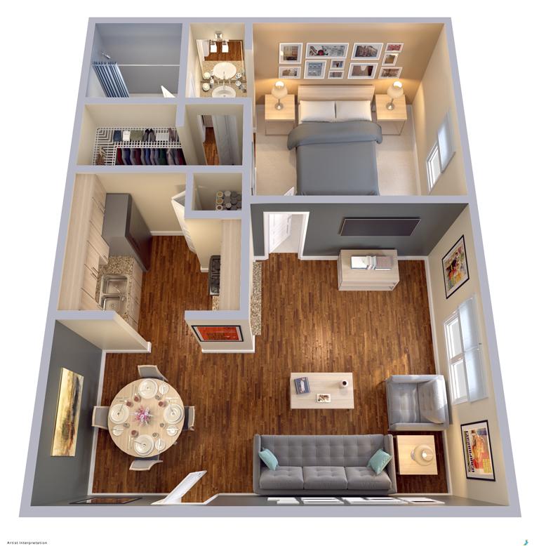 Ordinaire Floor Plans | Apartment Homes In Dallas, TX | Snug Harbor