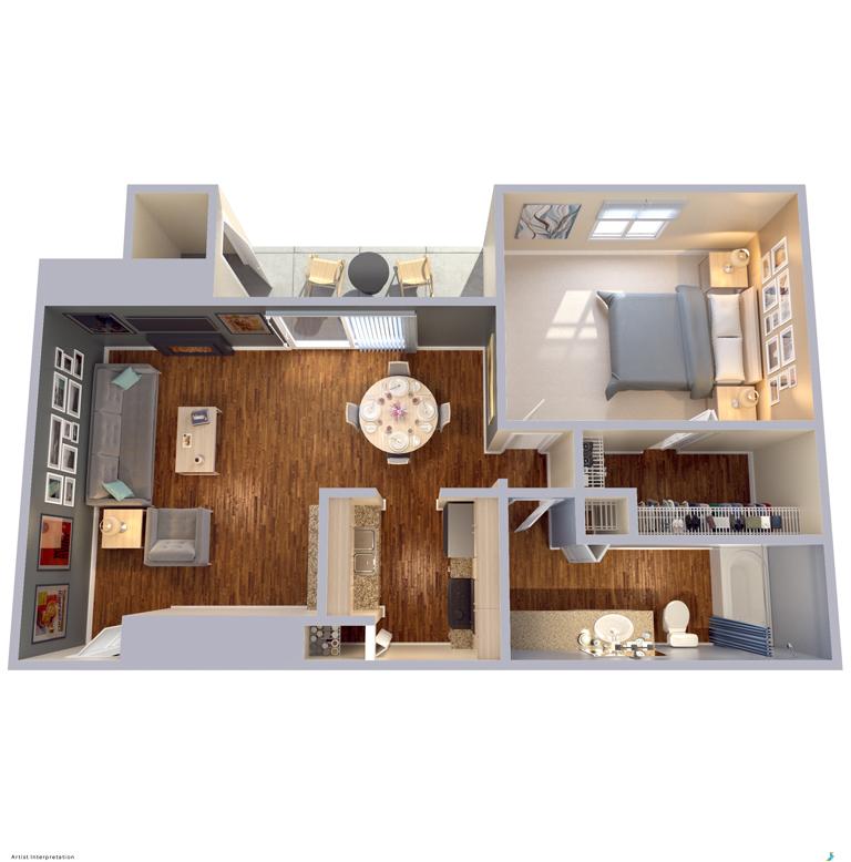 Floor Plans | Apartment Homes In Dallas, TX | Snug Harbor