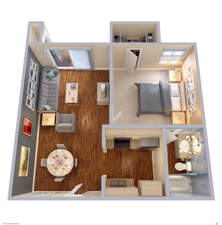 Wonderful Floor Plans | Apartment Homes In Dallas, TX | Snug Harbor Great Pictures