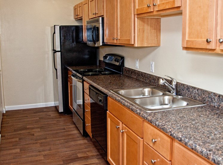 Spaulding Hills Apartments Kitchen