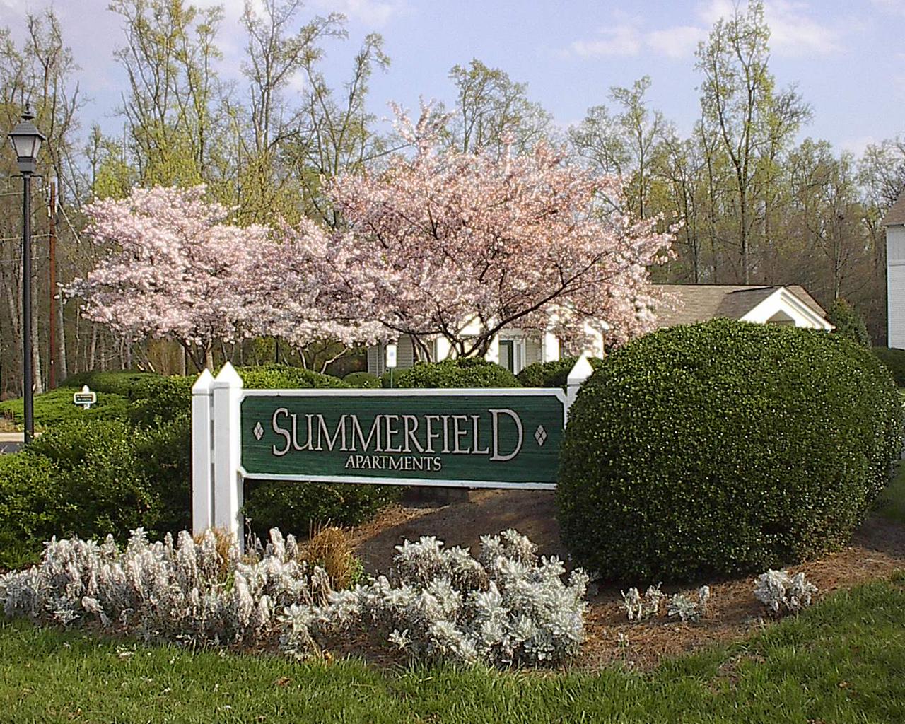Summerfield Apartments Exterior