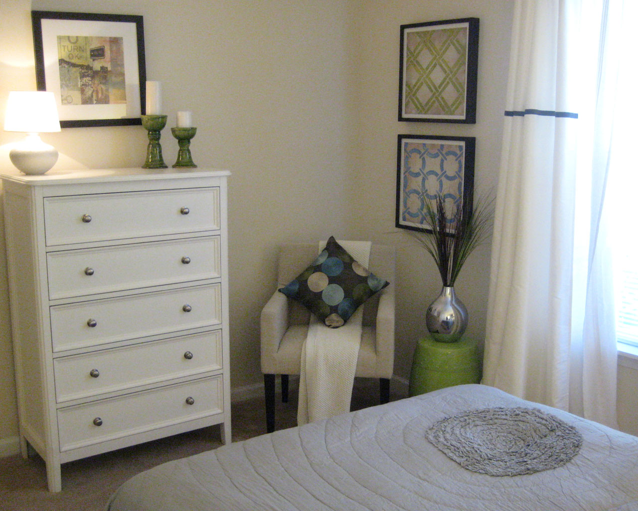 Mill Pond Apartments Bedroom