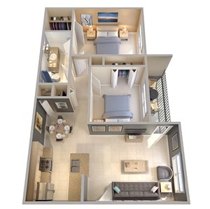 Palms of Clearwater Floor Plan