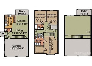 Poppy Basement 3 bath