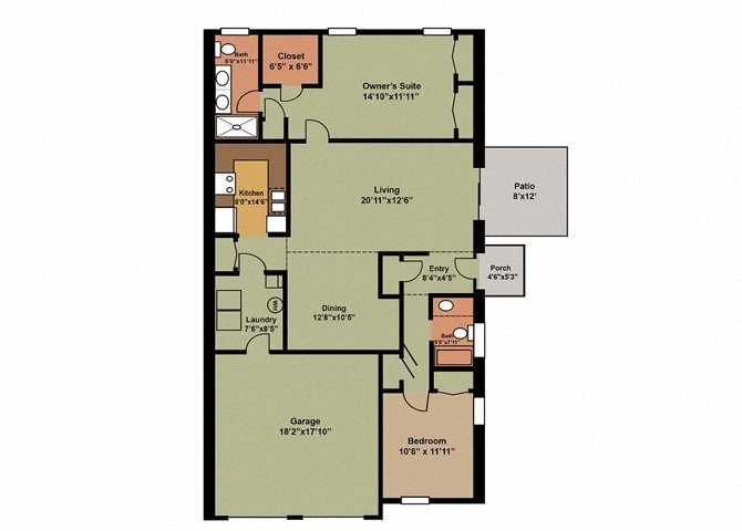 Clover Floor Plan 3