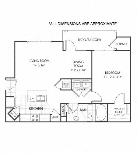 A2 floor plan Floor Plan 2