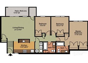 Style A 3 Bedroom