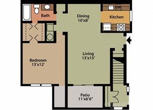 Style B 1 Bedroom