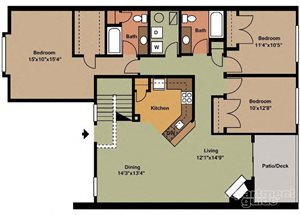 Three Bedroom Style A