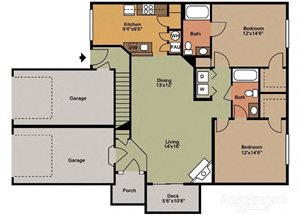 Two Bedroom Style B