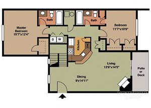 Two Bedroom Style A