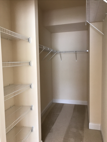 Walk in Closet at Claremont