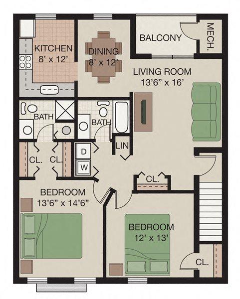 Bristol Floor Plan 4