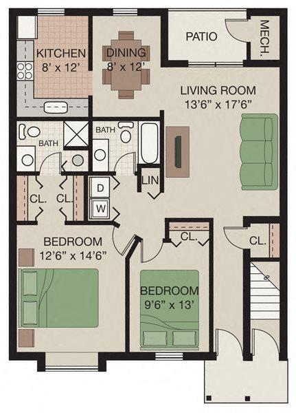 Newport Floor Plan 3