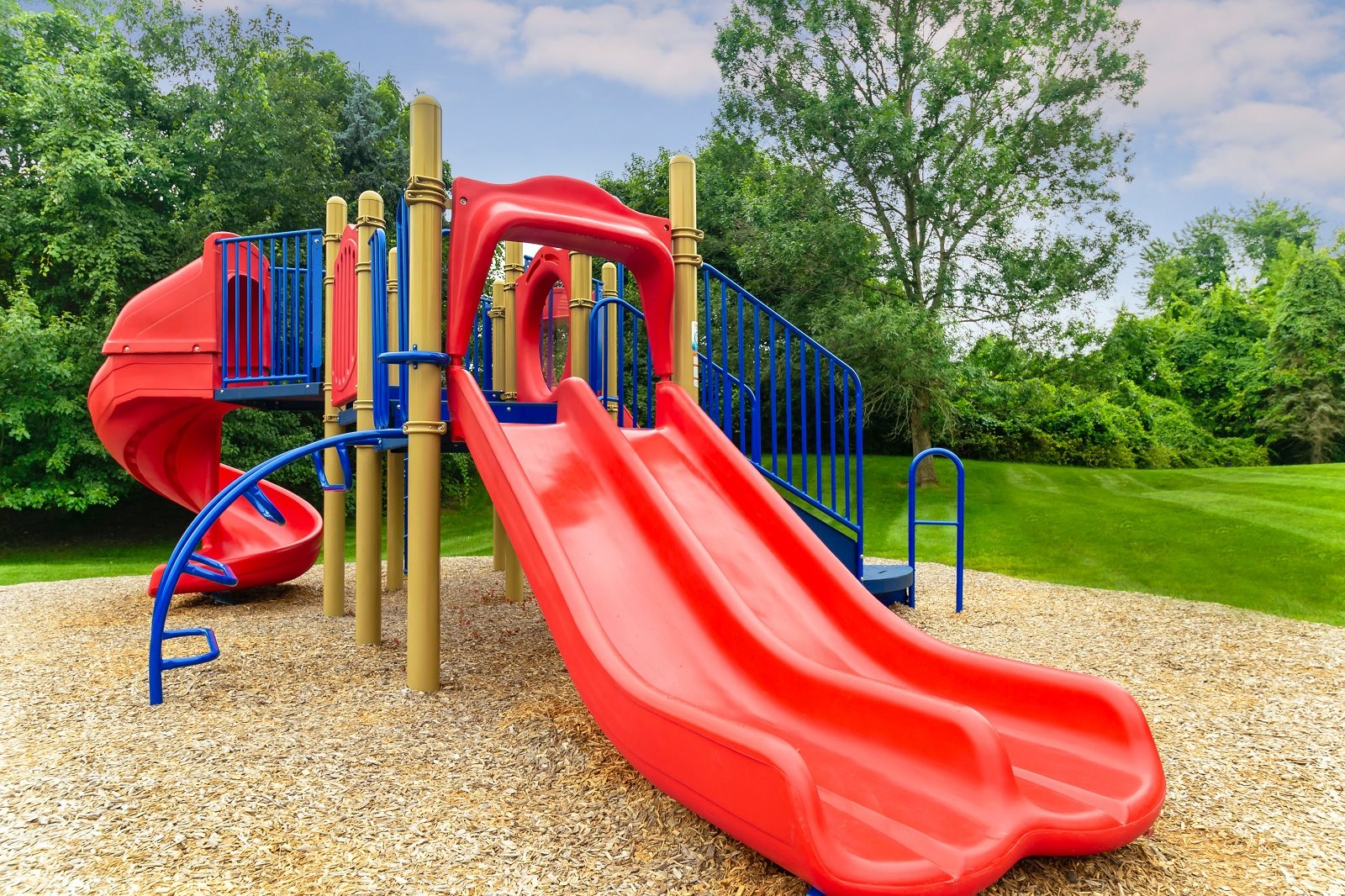 Playground at Chaddwell Apts