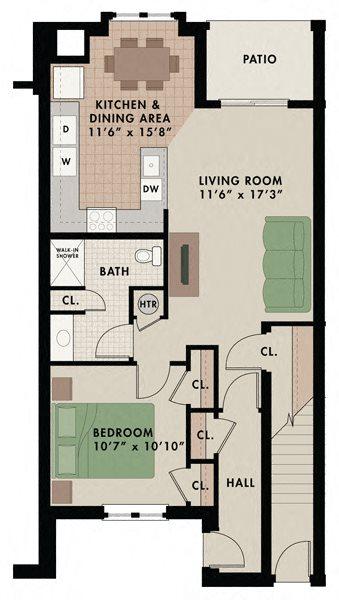 Breckendridge 1st Floor Floor Plan 5