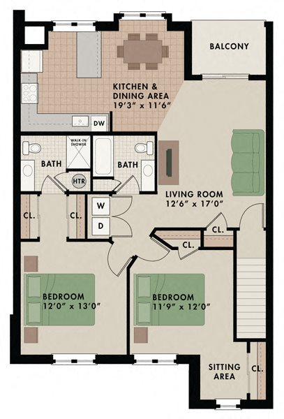 Killington 2nd floor Floor Plan 12