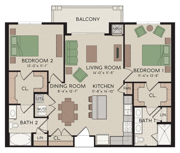 Braceland Floor Plan 1
