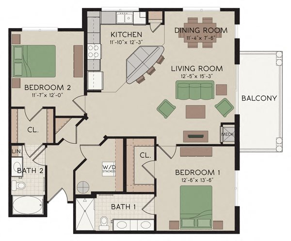 Gramercy Floor Plan 4