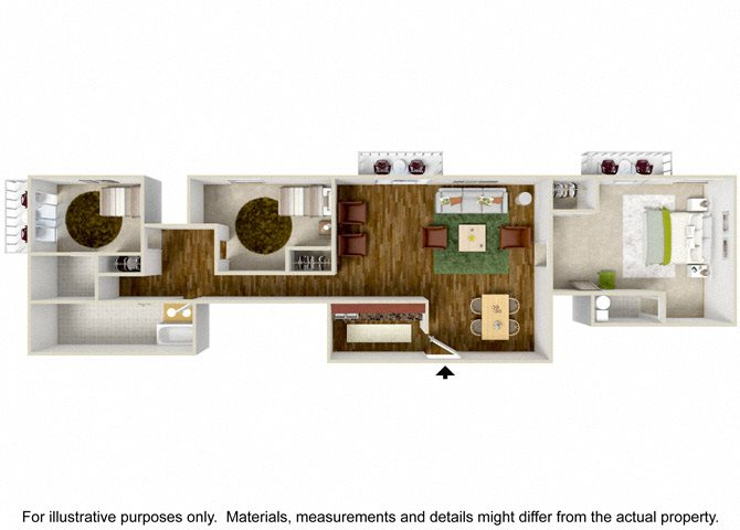 1 2 and 3 bedroom apartments in north hollywood ca - 2 bedroom apartments north hollywood ...