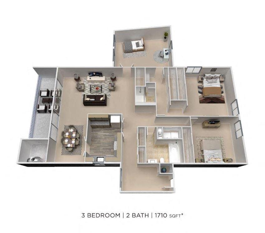 3 Bedroom Den