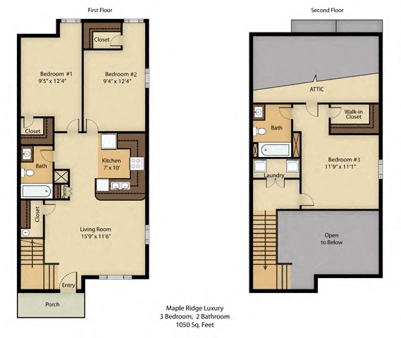 3 Bedroom Luxury Floor Plan 4