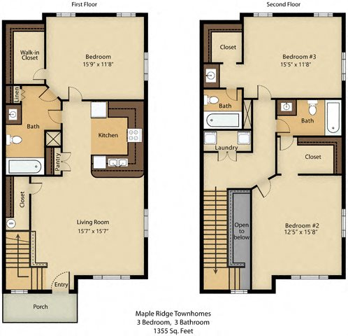 3 Bedroom Premier Floor Plan 5