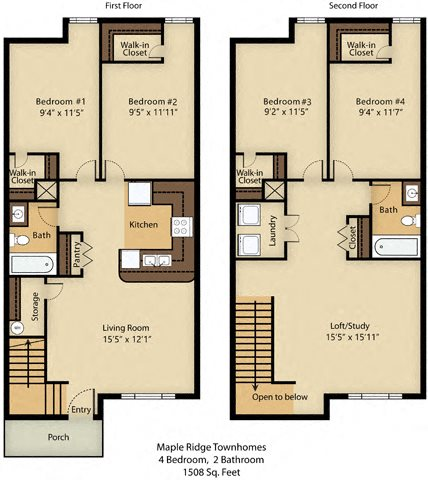 4 Bedroom Luxury Floor Plan 6