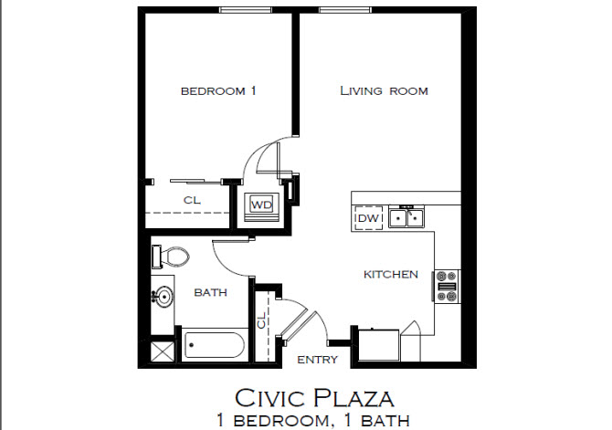 civic plaza apartments, 190 east front st, ste. 112, boise, id