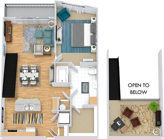 Cielo Apartments: Floor Plans Of Cielo Apartments In Charlotte, NC