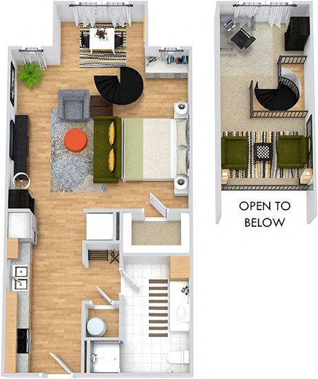 Floor Plans Of Cielo Apartments In Charlotte, NC