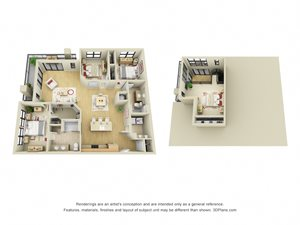 Carnegie Loft 3D