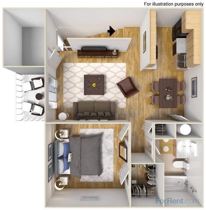 floor plan | Avesta Capella Apartments in Northside Austin, Tx