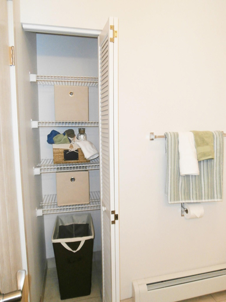 Storage-Packed Cabinets at Summit Terrace, South Portland, ME