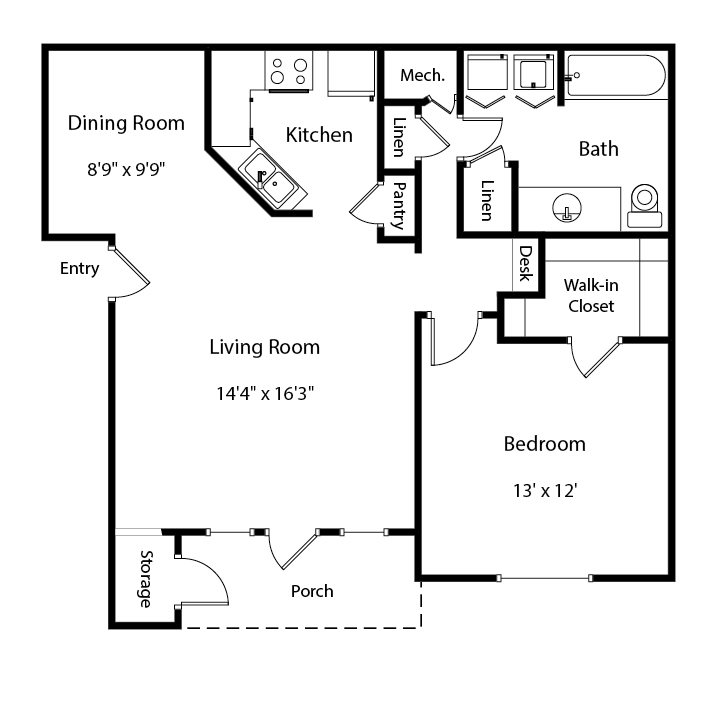 The Birch II Floor Plan 2