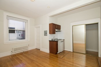 1050 Post Street Studio Apartment for Rent Photo Gallery 1