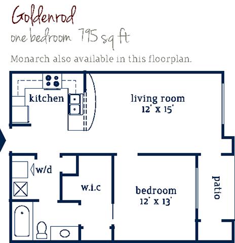 Goldenrod Floor Plan 2